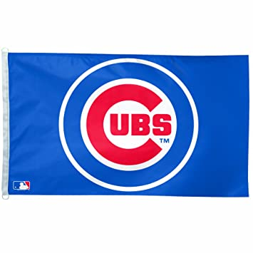 Amazon Mlb Chicago Cubs 3 By 5 Foot Team Logo Flag Sports
