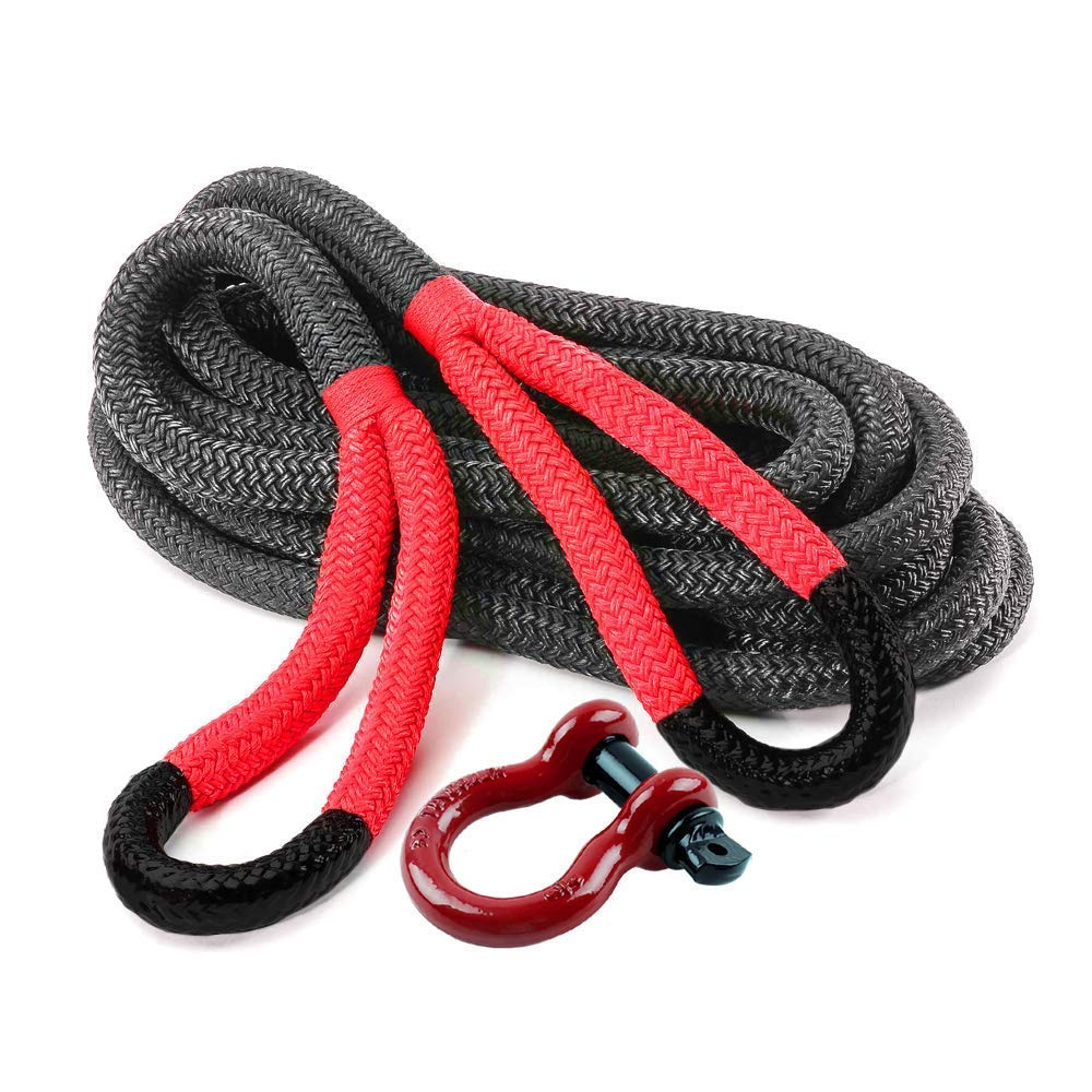 Ranger Rope 3/4'' x 20' Commercial Reliability Kinetic Recovery Tow Rope by Ultranger (Breaking Strength 9 Tons 20,000 LBs) by RANGER ULTRANGER