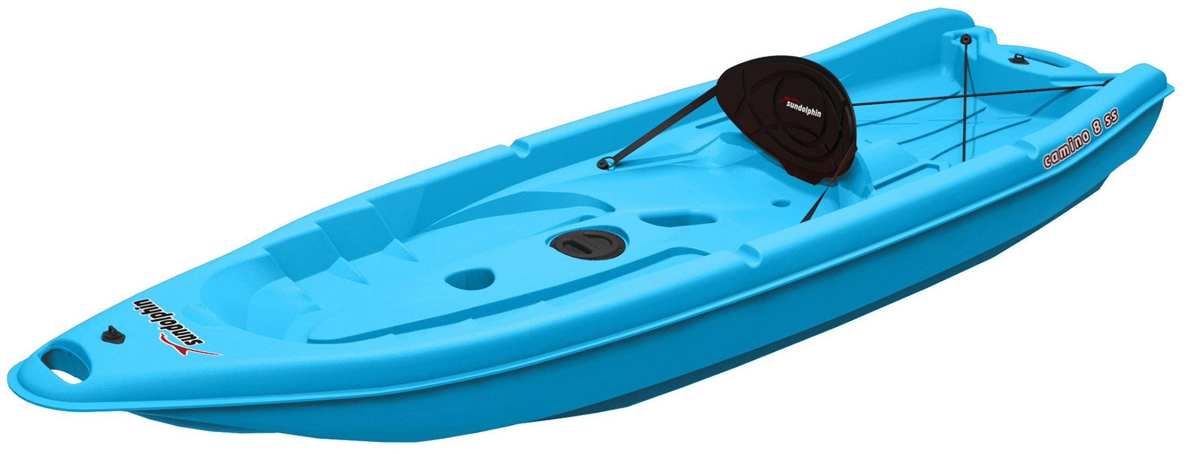 SUNDOLPHIN Sun Dolphin Camino SS Sit-on-top Kayak (Ocean, 8-Feet) by SUNDOLPHIN