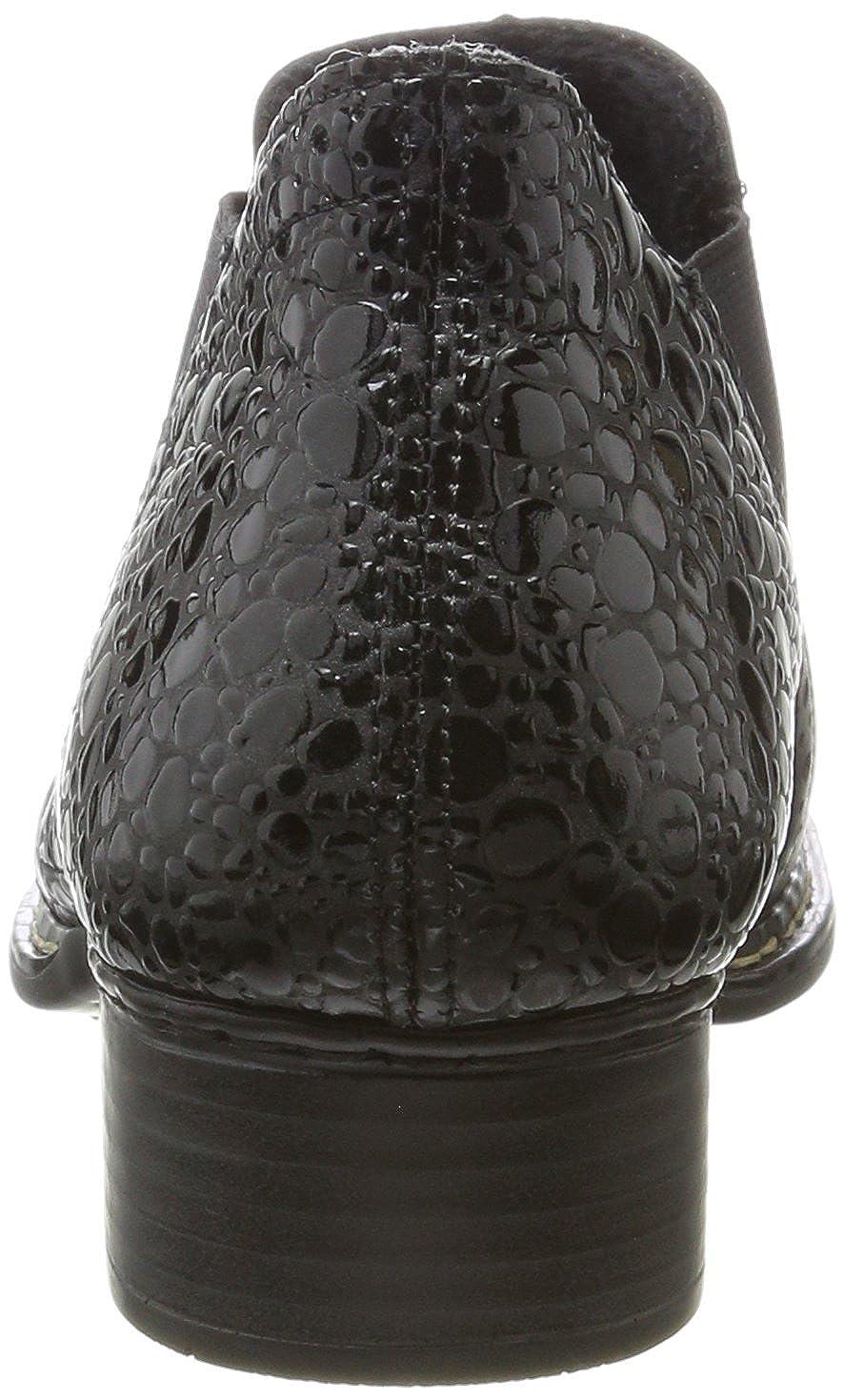 Rieker 53652 Damen 53652 Rieker Chelsea Stiefel Schwarz (Nero/Granit) 25193d