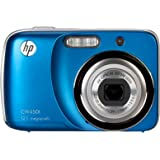 HP CW450T 12 MP Digital Camera with 4X Optical Zoom and 2.7-Inch Touchscreen LCD (Ocean Blue)