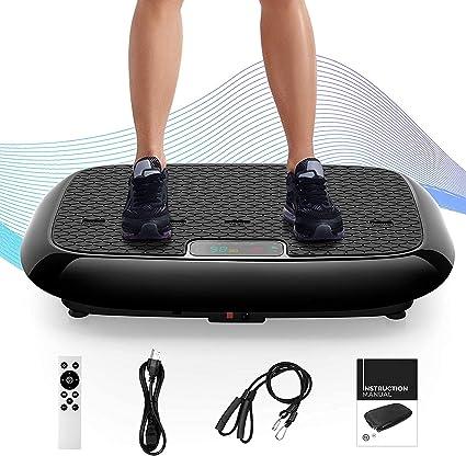 Vibration Platform Workout Machine for Sports Training Weight Loss /& Burning Fat