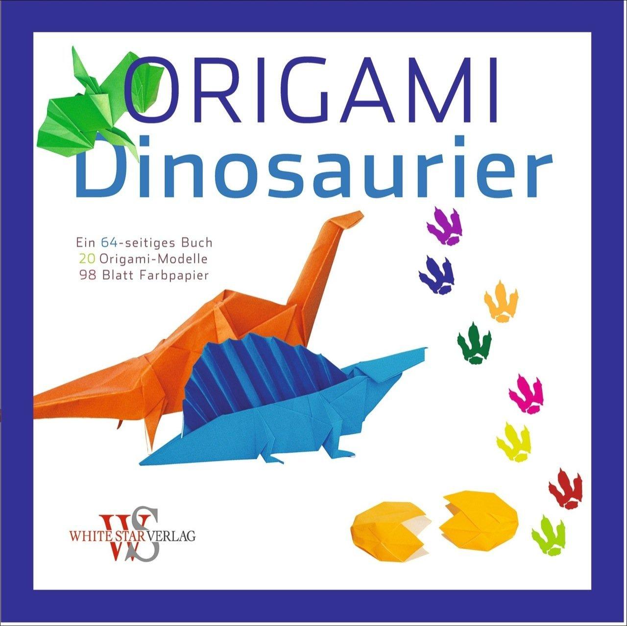 Origami Für Kinder Dinosaurier 20 Anleitungen Zum Origami Falten