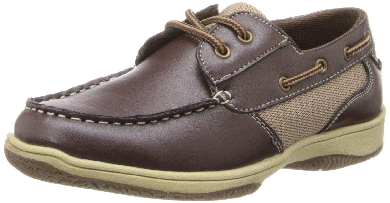 Deer Stags Jay Boat Shoe (Little Kid/Big Kid),Dark Brown,5.5 M US Big Kid