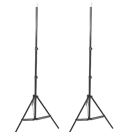 387 opinioni per DynaSun W803 Cavalletto Stativo Professionale, Kit da 2 Pezzi, 220 cm, Attacco