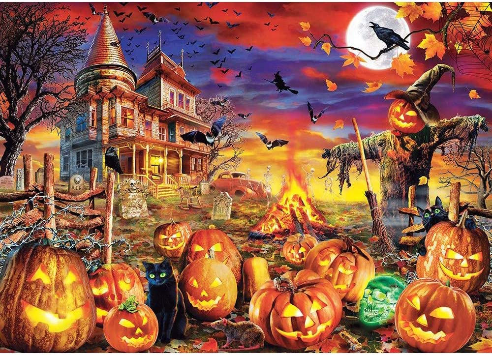 Halloween Glow in The Dark Jigsaw Puzzle