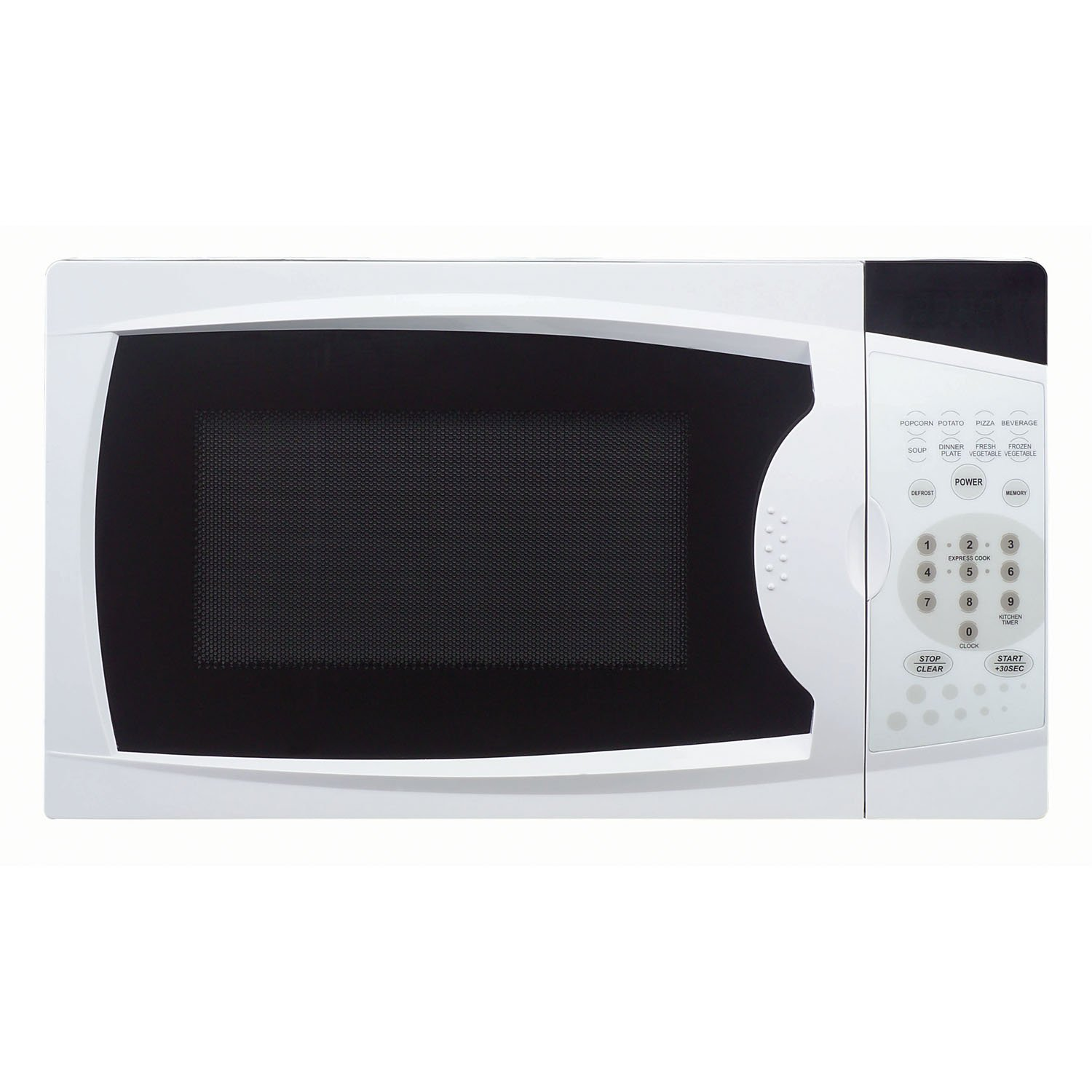 Magic Chef MCM770W 0.7 Cu. Ft. 700W Oven in White Countertop Microwave 7