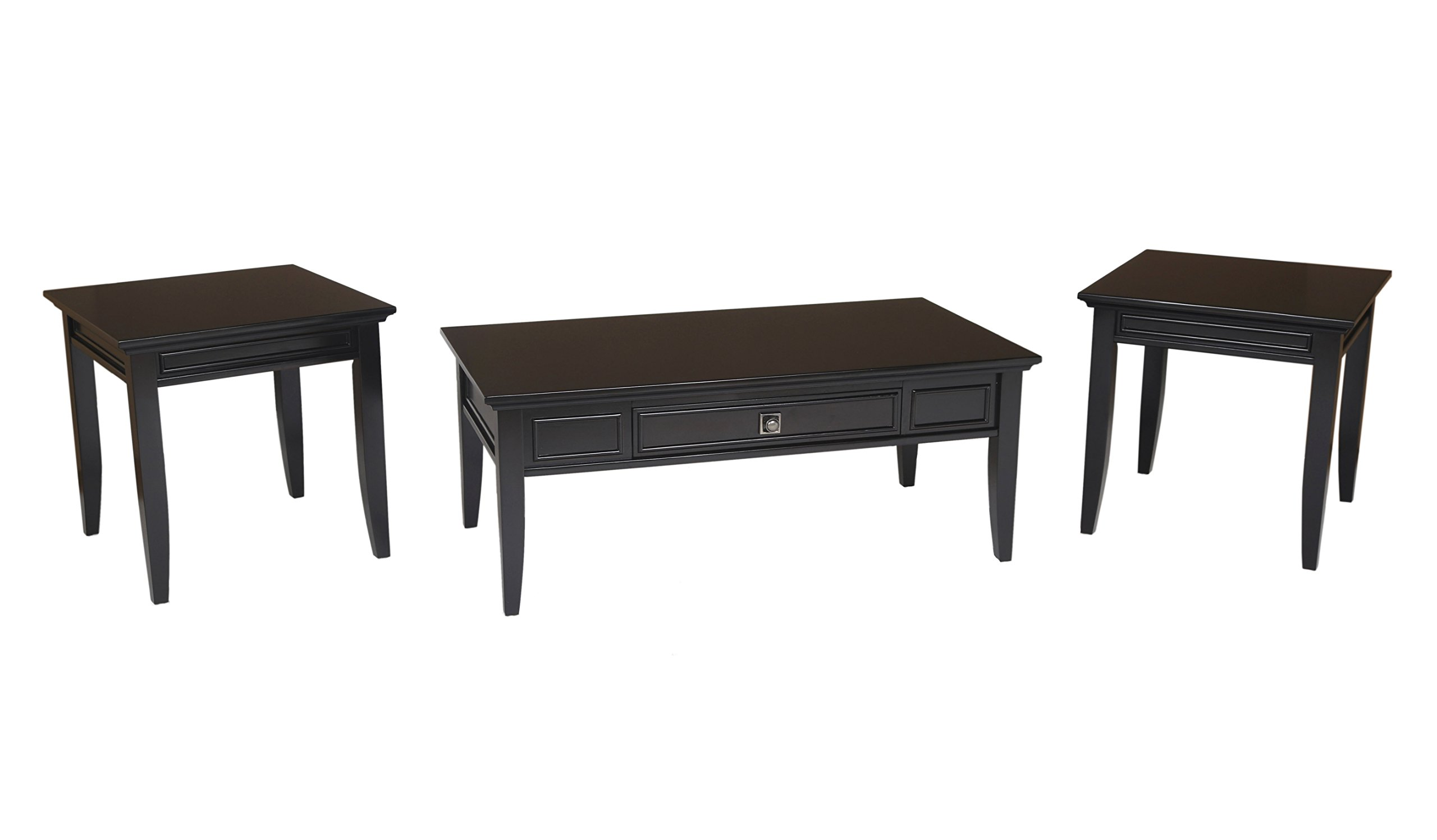 New Classic Franklin Park Espresso Occasional Tables (3 Pack) by New Classic Furniture