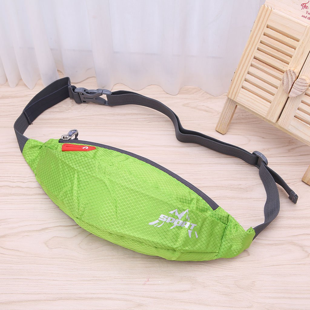 Horoshop Unisex Women Men Sports Running Cycling Jogging Hiking Waist Belt Pack Bag Pouch