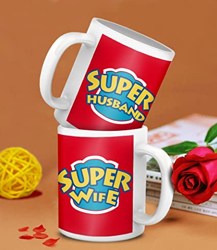 Buy Tied Ribbons Gifts For Newly Married Couple Super Husband Super