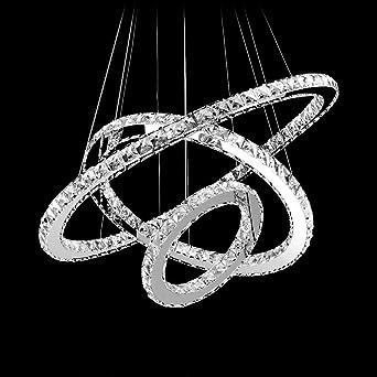 MEEROSEE Modern Crystal Chandeliers D276197118 LED Pendant