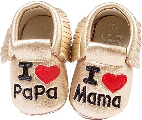 Scarpine neonati Inception Pro Infinite ® - S7 - Zapatos de Bebé Me encantan Mamá y Papá - 20.5 2RC3plml6