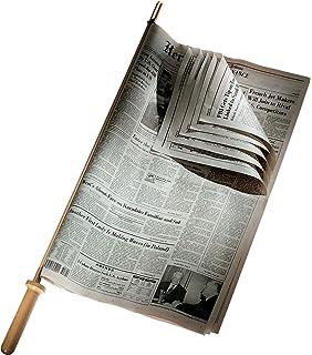 Tellier 48287-19 - Palo para periódico (75 cm, Madera Oscura ...
