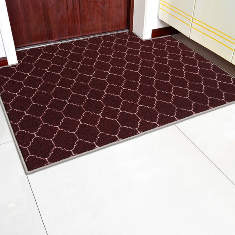 Carpet,Simple geometric entrance mat,Foot pad-E 120x170cm(47x67inch)