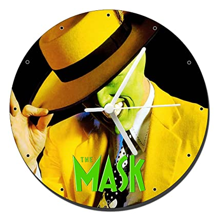 La Mascara The Mask Jim Carrey Reloj de Pared Wall Clock 20cm