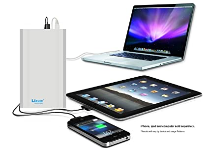 Lizone Extra Pro Power Bank External Battery Portable Charger for Apple MacBook Air MacBook Pro MacBook