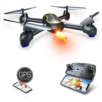Asbww | Dron GPS con Cámara Full HD 1080p para Principiantes ...