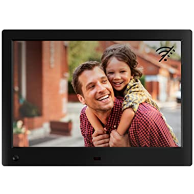 NIX Advance 10 Inch Digital Photo Frame (Non-WiFi) - HD Picture Frame 16:10 IPS Display, Motion Sensor, USB and SD Card Slots and Remote Control