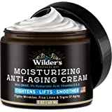 Men's Face Cream Moisturizer - Anti Aging Facial Skin Care - Made in USA - Collagen, Retinol, Hyaluronic Acid - Day & Night -