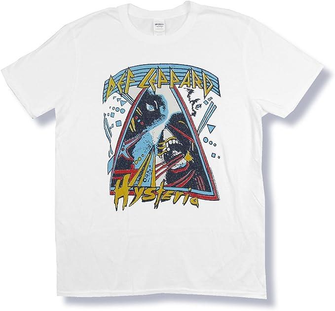 Def Leppard white T shirt