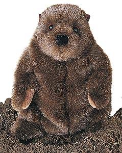 """Douglas Cuddle Toys Plush Chuckwood Groundhog 11"""""""