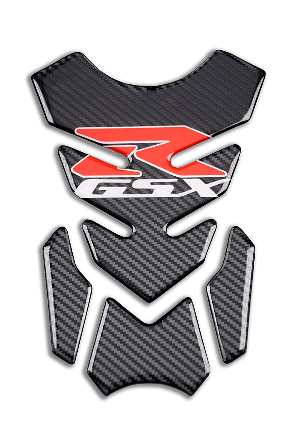 Motorcycle Real Carbon Look Vinyl Decal Emblem Protection Reflective Gas Tank Pad Tank Protector For SUZUKI Gixxer GSXR 600 750 2006-2016 / GSXR1000 2007-2008 GSXR1300 Hayabusa 2008-2016