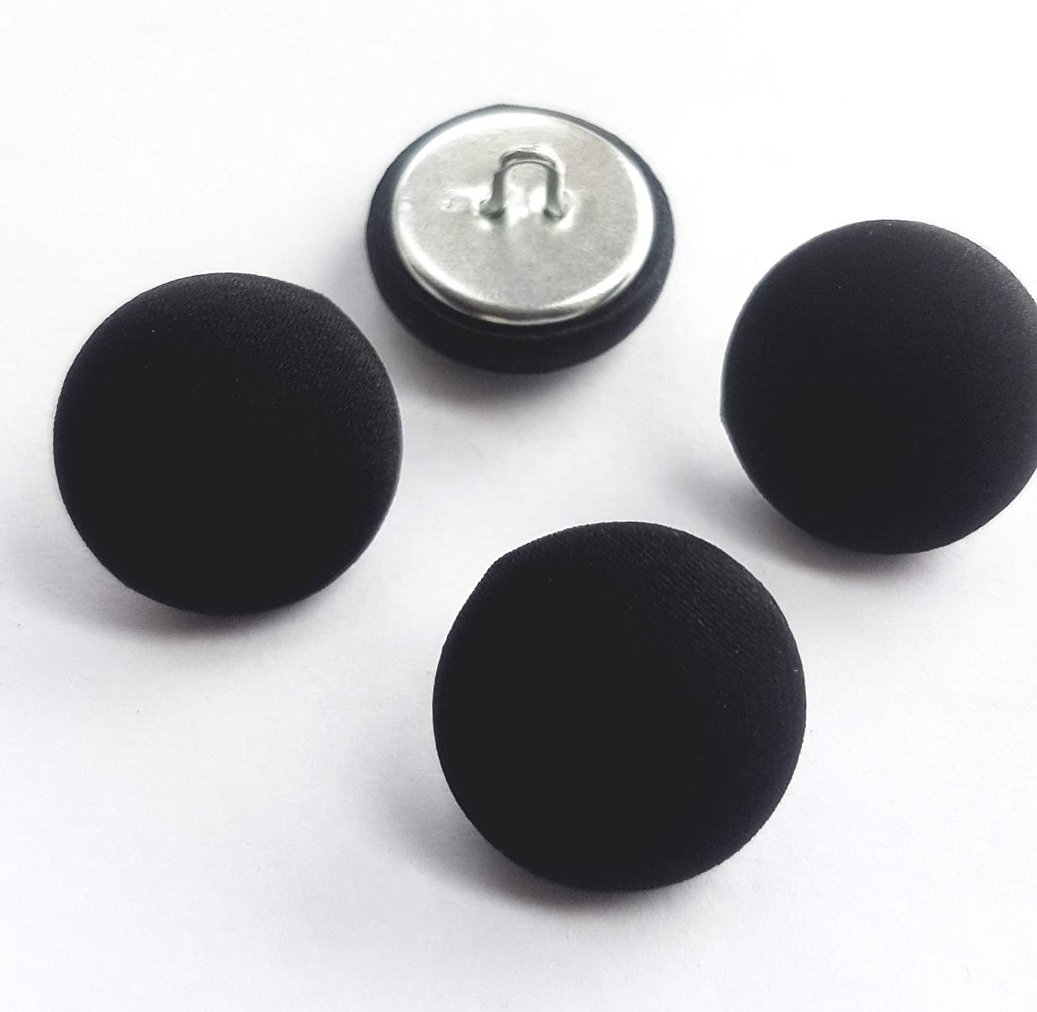 10x Cotton Fabric Covered Buttons Sewing Accessories for Garment Supplies