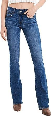 Amazon Com American Eagle 1585423 Pantalones Vaqueros Para Mujer Color Azul Brillante 20 Largos Clothing