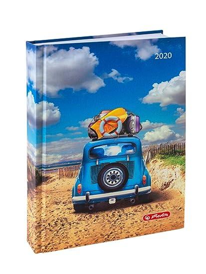 Herlitz Strandauto - Mini agenda 2020 (DIN A6): Amazon.es ...