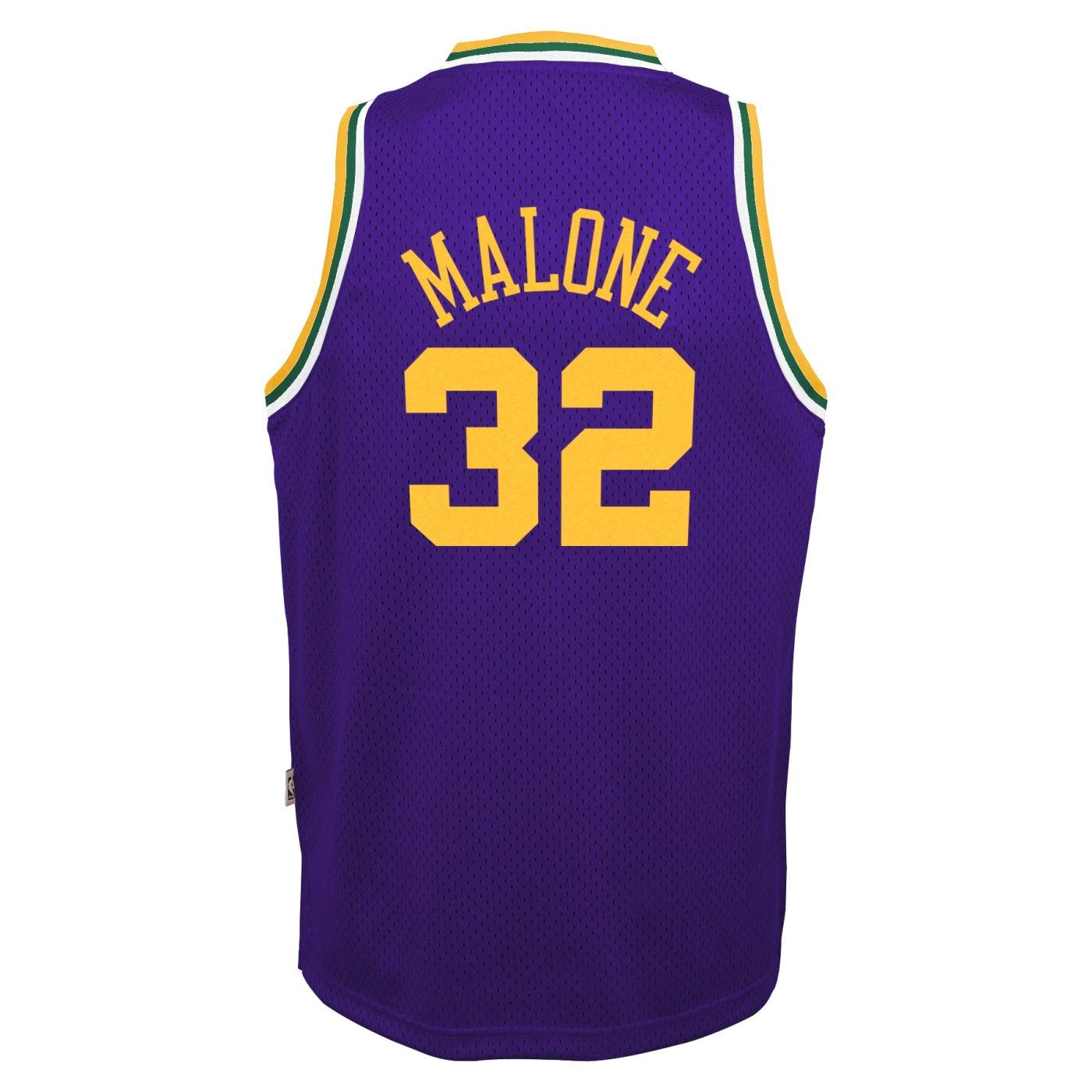 472bc9987ad5e Amazon.com : Outerstuff Karl Malone Utah Jazz NBA Youth Throwback ...