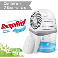 DampRid Drop-in Moisture Absorbing Tab Starter Kit Drop-in Tab Attracts Excess Moisture to Create Fresher, Cleaner Air and Remove Musty Odors