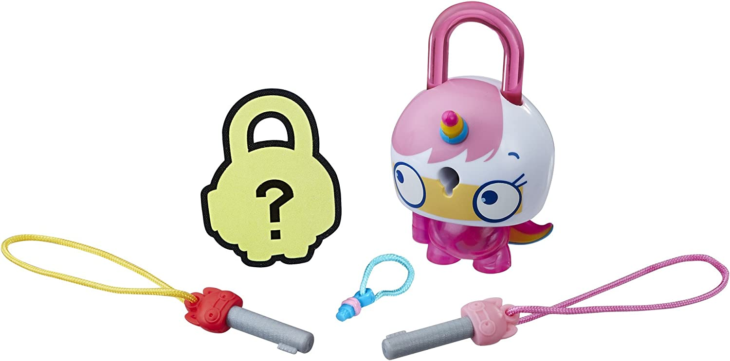 Details about  /Lot of 3 Lock Stars Series 1 With Mystery Surprise Hasbro Toys Charms NEW Sealed