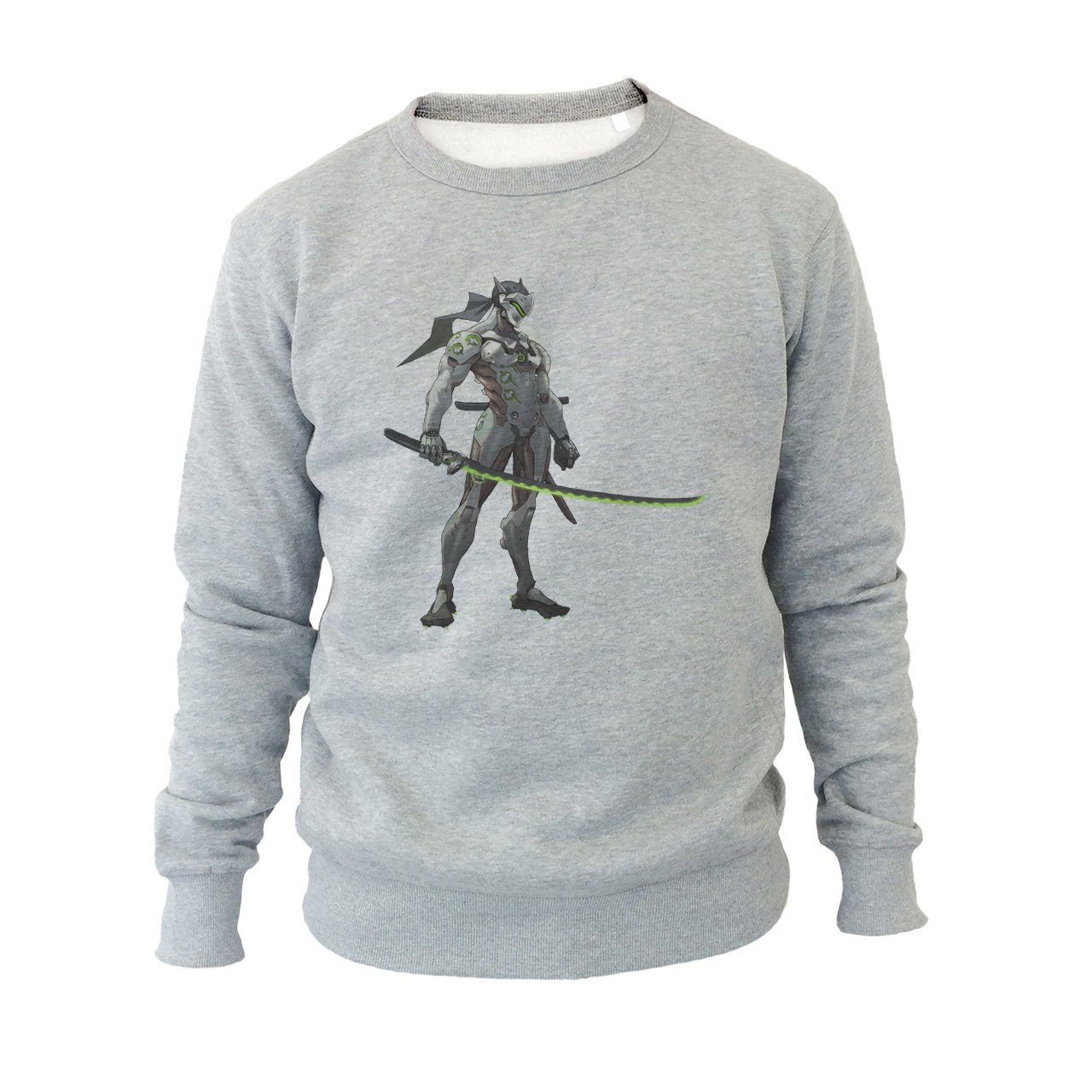 Overwatch Video Game Genji Sword Ninja Green Small Unisex ...