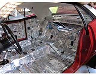 product image for HushMat 662621 Sound and Thermal Insulation Kit (1962-1964 Mopar B Body Polara/330/440 - Floor)