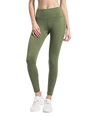 c3bec0f13546e Queenie Ke Women Yoga Pants High Waist Power Stretch Running Tights for Gym  Workout: Amazon.co.uk: Clothing