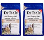 Dr Teals Coconut Oil Pure Epsom Salt Soaking Solution 3 lbs