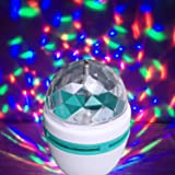 PickTheDeal 360 Degree LED Crystal Rotating Bulb Magic Disco LED Light,LED Rotating Bulb Light Lamp for Party/Home/Diwali Decoration