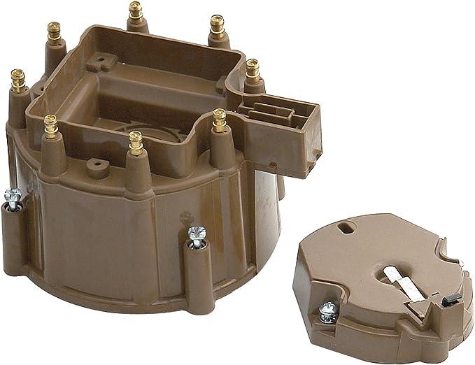 GAS Accel TST24 Y Distributor Cap//Rotor//Spark Plugs//Spark Plug Wires Kit-VIN