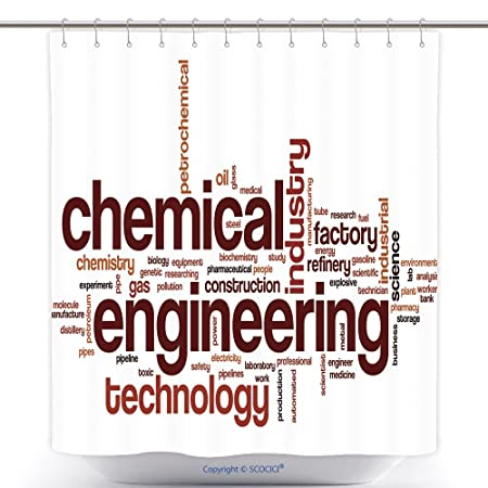 Antibacterial Shower Curtains Chemical Engineering Word Cloud Concept Words Related To And Technology 500308102