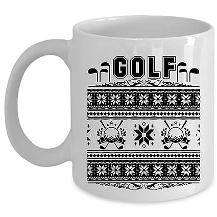 Amazon.com: Christmas Gift For Golfer Coffee Mug, Golf Cup (Coffee ...