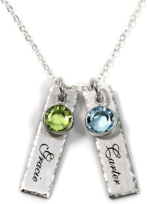 Unity in Two Personalized Charm Necklace