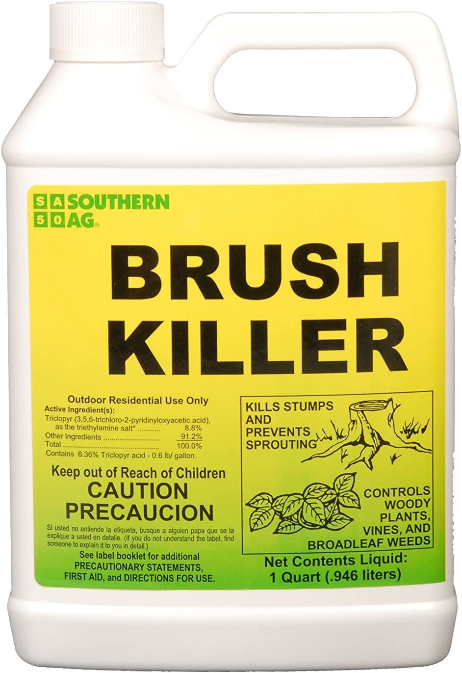Southern Ag - 01113 - Brush Killer - Weed Killer - 1 Quart (32 oz)