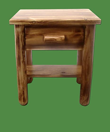 Amazon.com: Midwest Log Muebles – Torched de cedro Log ...