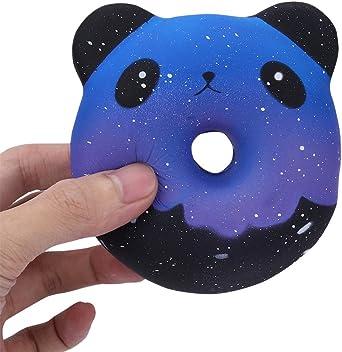 Lurcardo Squishy Kawaii, Galaxy Panda Donuts Squishy Juguete ...