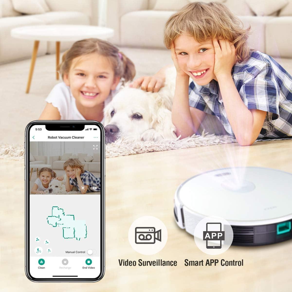 Trifo Ironpie m6 Aspirador Robot con Cámara para Navegación Visual ...