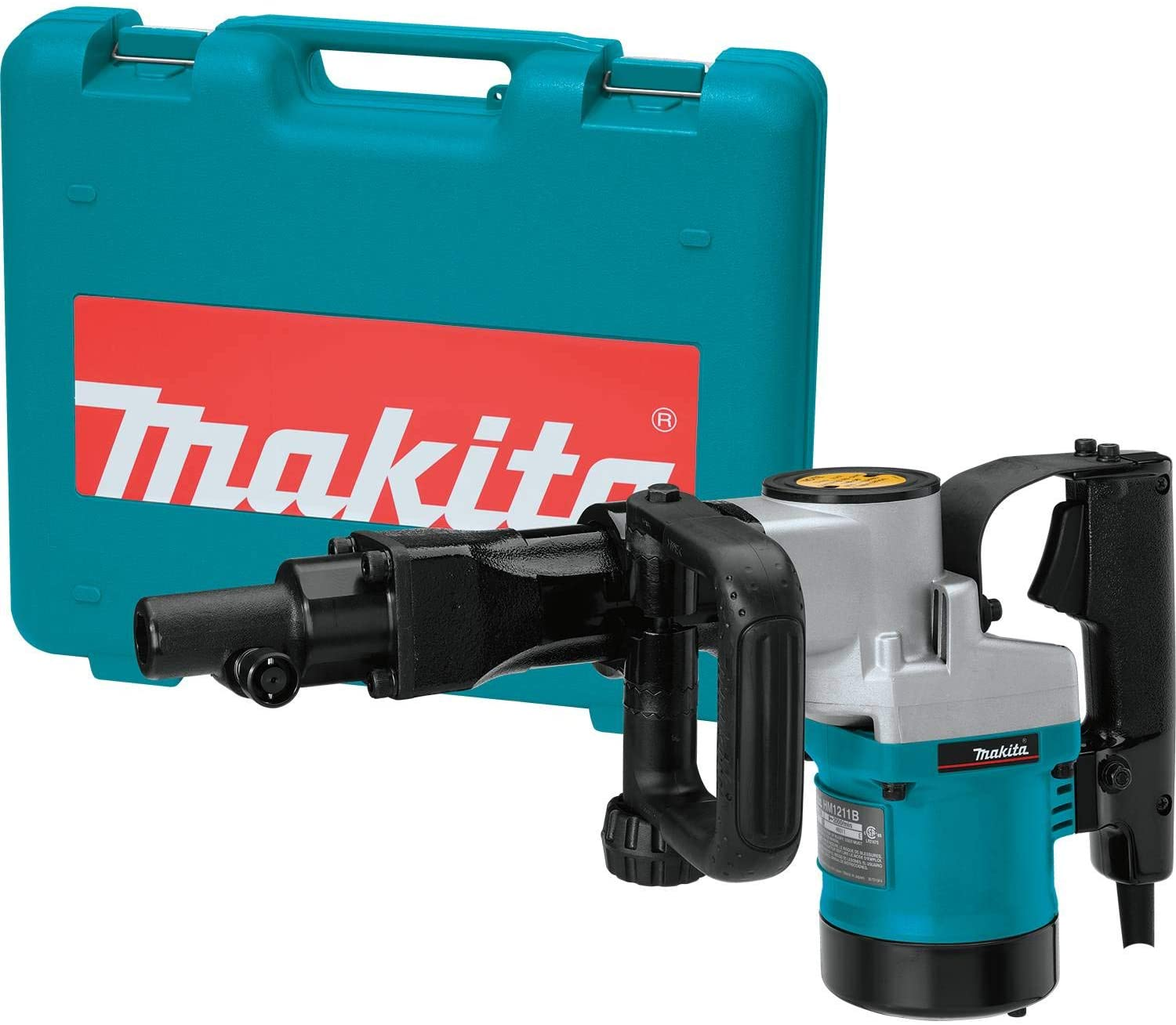 Makita HM1211B 20 lb. Demolition Hammer, Accepts 3 4 Hex Bits