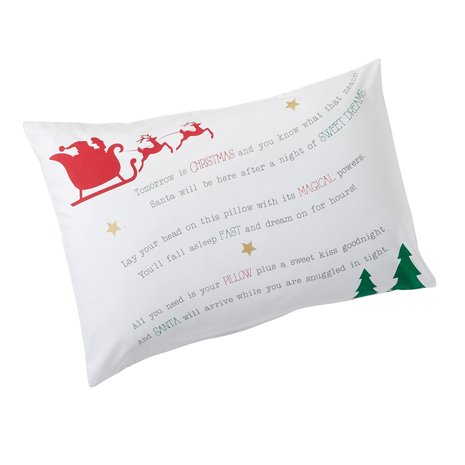 Amazon.com: Papá Noel Dreams funda de almohada: Baby