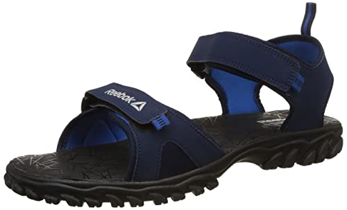 a972eed74 Reebok Men s Aztrix Navy Blue Black Flip-Flops-8 UK India (42 EU) (9 ...