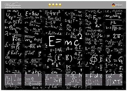 Archivadores pegatinas fórmulas matemáticas - Alta calidad en teoría de la relatividad - tamaño 36 x