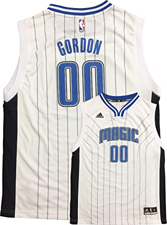 factory price 4db1b 3692c Amazon.com: Aaron Gordon Orlando Magic #00 Youth Home White ...